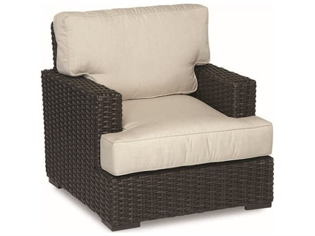 Sunset West Quick Ship Cardiff Lounge Chair in Canvas Flax with Self Welt SW2901215492