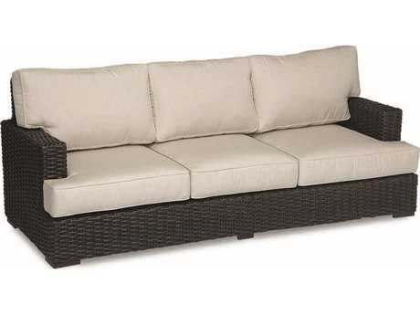 Sunset West Quick Ship Cardiff Wicker Sofa