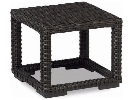 Sunset West Quick Ship Cardiff Wicker 23 Square End Table