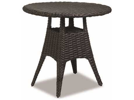 Sunset West Quick Ship Cardiff Wicker 36 Round Pub Table