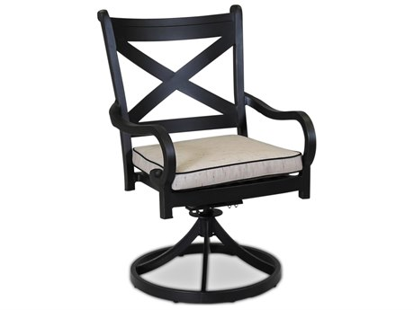 Sunset West Quick Ship Monterey Swivel Dining Chair