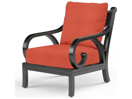 Sunset West Monterey Aluminum Club Chair SW300121NONSTOCK
