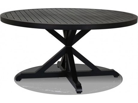 Sunset West Monterey Aluminum 60 Round Dining Table