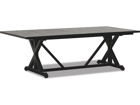 Sunset West Monterey Aluminum 96 Rectangular Dining Table