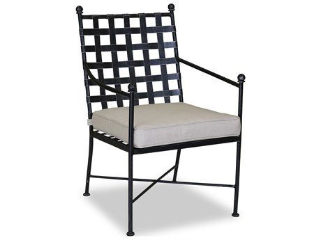 Sunset West Quick Ship Provence Wought Iron Dining Chair SW320115492