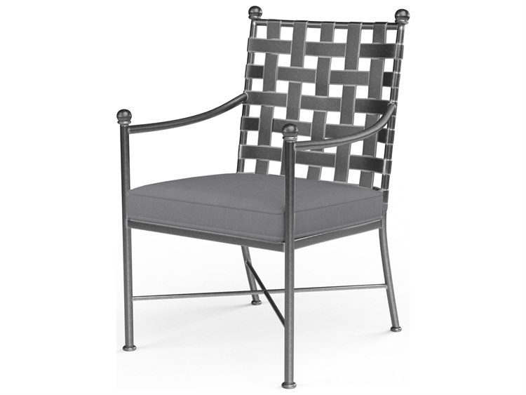 Sunset West Provence Wought Iron Dining Chair PatioLiving