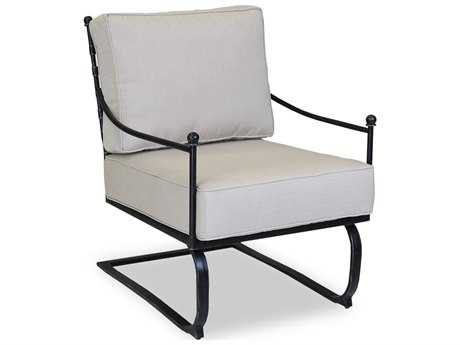 Sunset West Provence Wrought Iron Rocking Club Chair