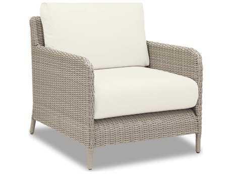 Sunset West Manhattan Wicker Club Chair