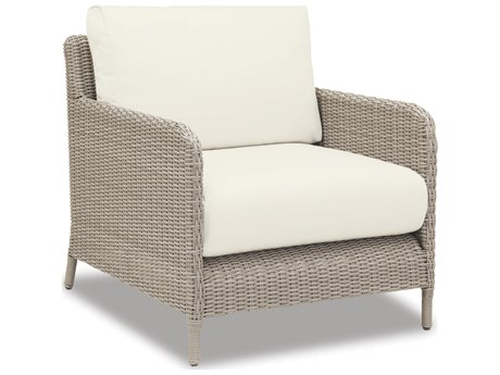 Sunset West Quick Ship Manhattan Wicker Club Chair