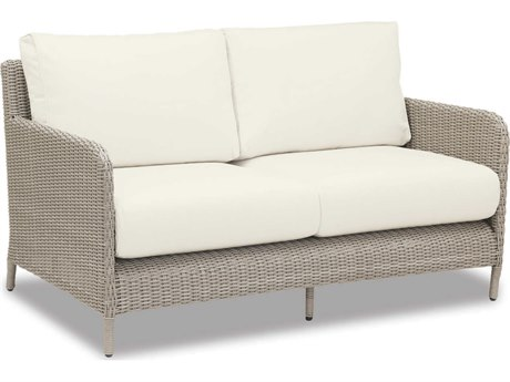 Sunset West Manhattan Wicker Loveseat