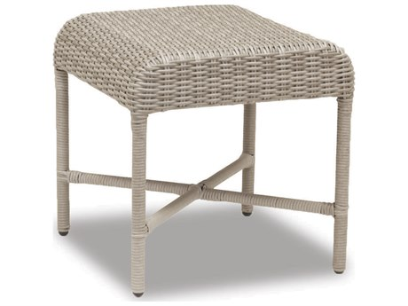 Sunset West Quick Ship Manahattan Wicker 21 Square End Table