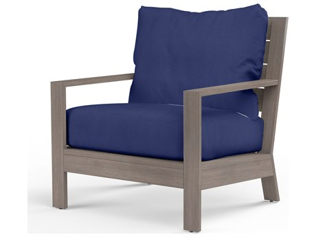 Sunset West Laguna Aluminum Club Chair SW350121NONSTOCK