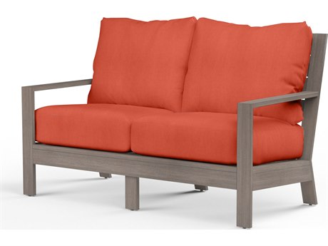 Sunset West Laguna Aluminum Loveseat
