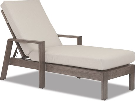 Sunset West Quick Ship Laguna Aluminum Adjustable Chaise