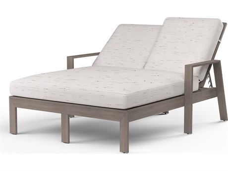 Sunset West Laguna Aluminum Double Chaise Lounge