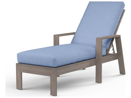 Sunset West Laguna Aluminum Adjustable Chaise