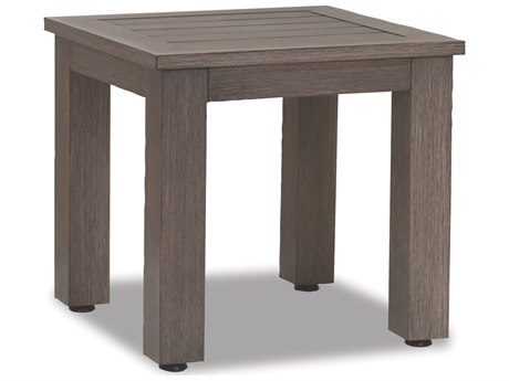 Sunset West Quick Ship Laguna Aluminum 22 Square End Table