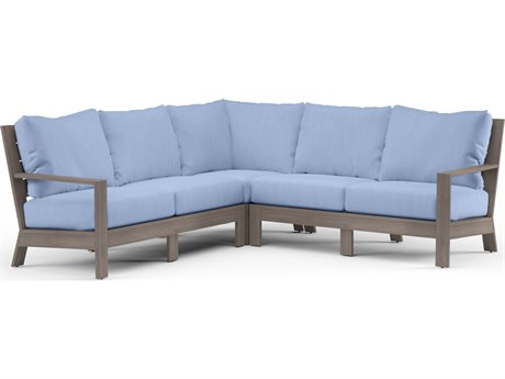 Sunset West Laguna Aluminum Sectional
