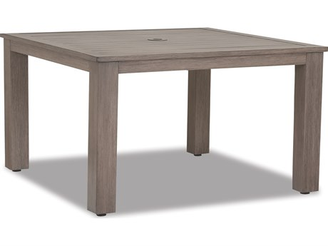 Sunset West Quick Ship Laguna Aluminum 48 Square Table