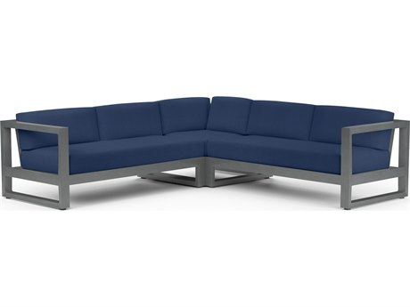 Sunset West Redondo Aluminum Sectional