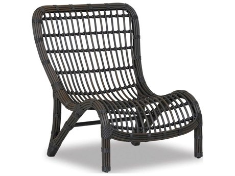 Sunset West Venice Wicker Armless Lounge Chair
