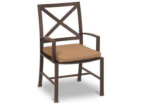 Sunset West Quick Ship La Jolla Aluminum Dining Arm Chair