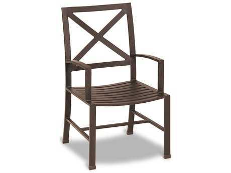 Sunset West La Jolla Aluminum Dining Arm Chair