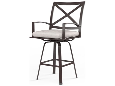 Sunset West La Jolla Aluminum Swivel Barstool
