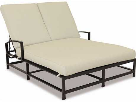 Sunset West Quick Ship La Jolla Aluminum Double Chaise