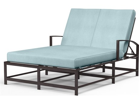 Sunset West La Jolla Aluminum Double Chaise