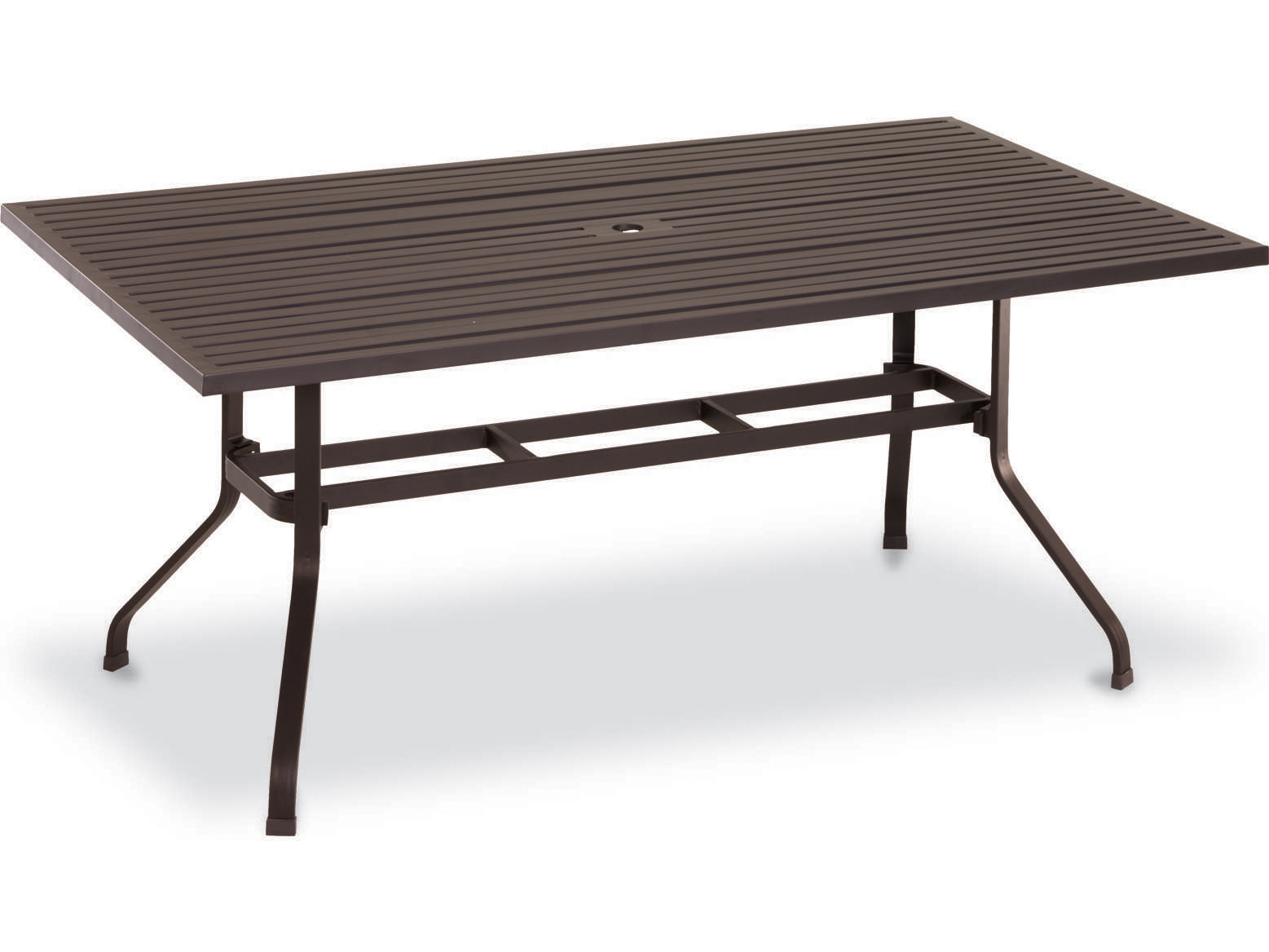 sunset west quick ship la jolla aluminum 72 x 48 rectangular dining table 401 t72. Black Bedroom Furniture Sets. Home Design Ideas