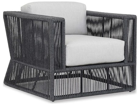 Sunset West Milano Woven Acrylic Rope Lounge Chair