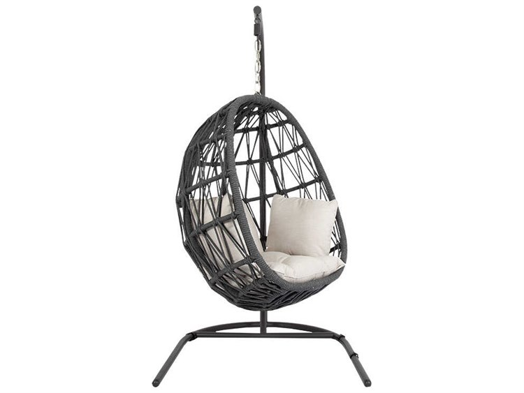 Sunset West Milano Wicker Hanging Swing Chair