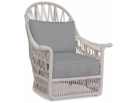 Sunset West Dana Wicker Wing Lounge Chair
