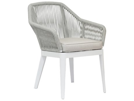 Sunset West Miami - Quick Ship Wicker Cushion Dining Chair