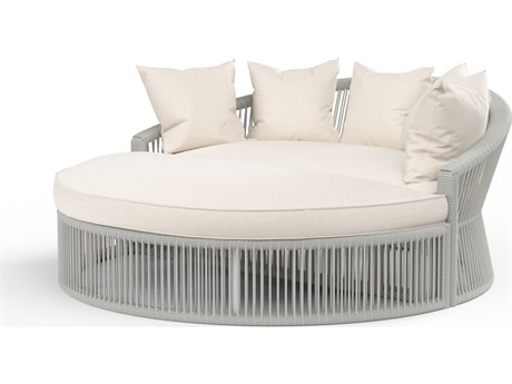 Sunset West Miami Wicker Cushion Lounge Daybed