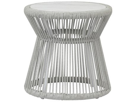 Sunset West Miami - Quick Ship Wicker Round End Table