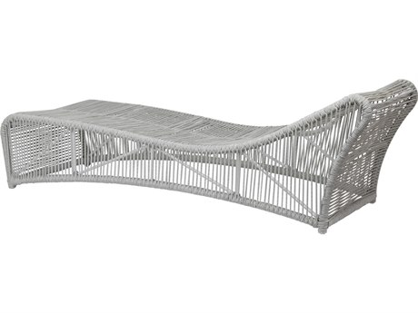 Sunset West Miami - Quick Ship Teak Wicker Chaise Lounge
