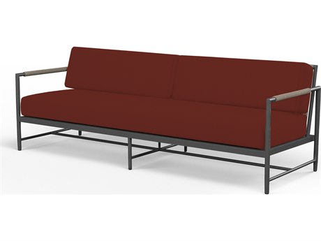 Sunset West Pietra Aluminum Sofa