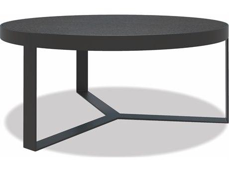 Sunset West Honed Granite - Quick Ship Aluminum Round Coffee Table