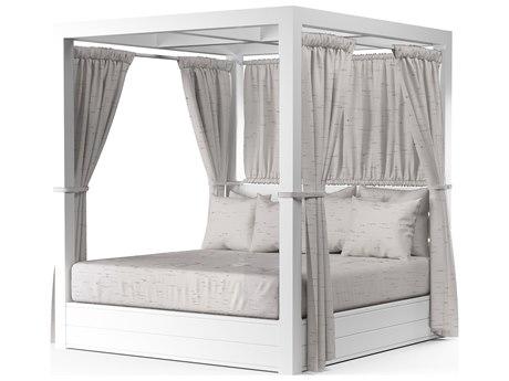 Sunset West Newport Aluminum Cushion Lounge Bed