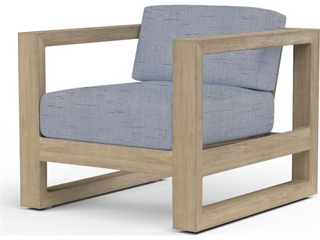 Sunset West Coastal Teak Lounge Chair
