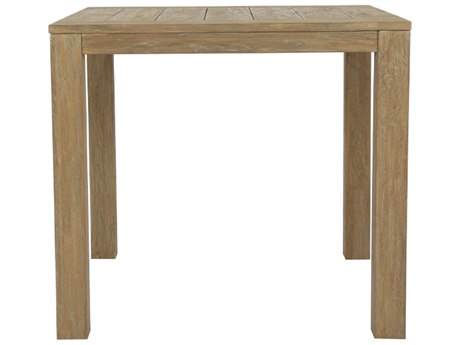 Sunset West Teak - Quick Ship 22'' Wide Square End Table