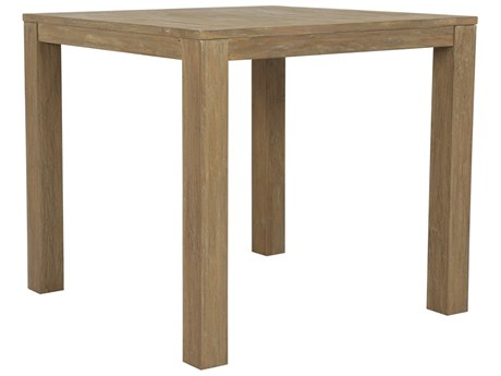 Sunset West Teak - Quick Ship 40'' Wide Square Counter Table