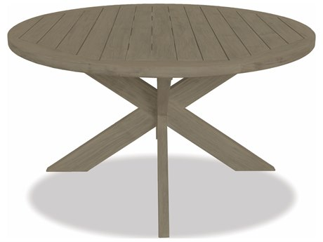 Sunset West Teak - Quick Ship Round Dining Table