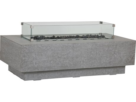 Sunset West Gravelstone 58 Rectangular Fire Table