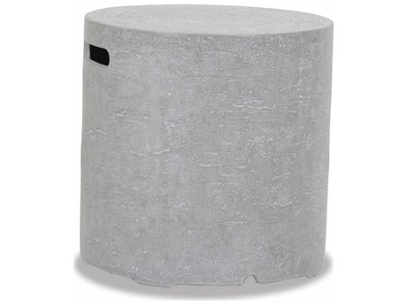 Sunset West Gravelstone - Quick Ship Concrete Round End Table