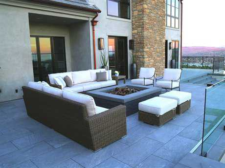 Sunset West Coronado Wicker Lounge Set