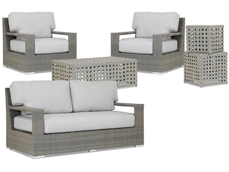 Sunset West Closeout Hampton Wicker Lounge Set