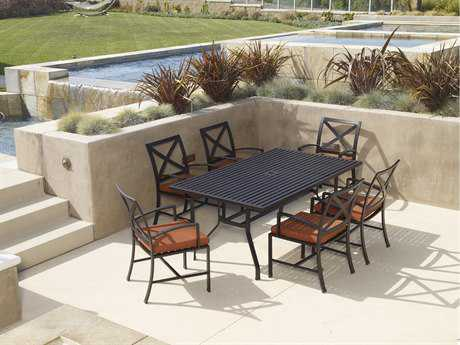 Sunset West La Jolla Aluminum Dining Set
